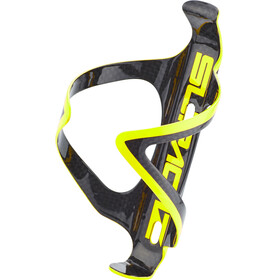 Supacaz Fly Cage Carbon Drink Bottle Holder yellow/black